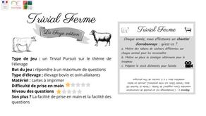 """""""Trivial Ferme"""", le Trivial Pursuit fermier"""