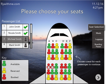 Seat Selection