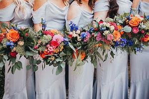 Larkspur - Bouquet brights - Red wellies