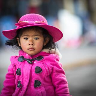 Pink in Cusco
