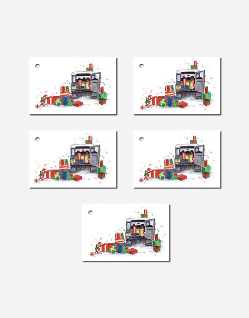 A Very Landy Christmas | Set of 5 Gift Tags