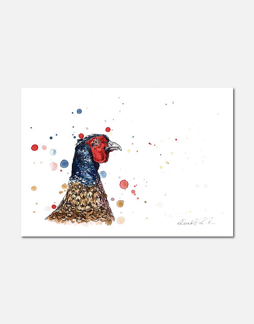 Pheasant | Signed Limited Edition Print