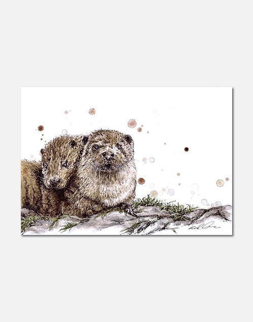 Partners in Crime | Signed Limited Edition Print