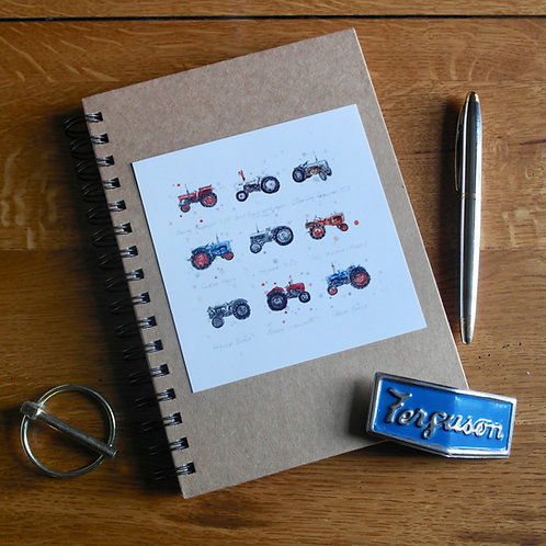 Tractors | A5 Notebook