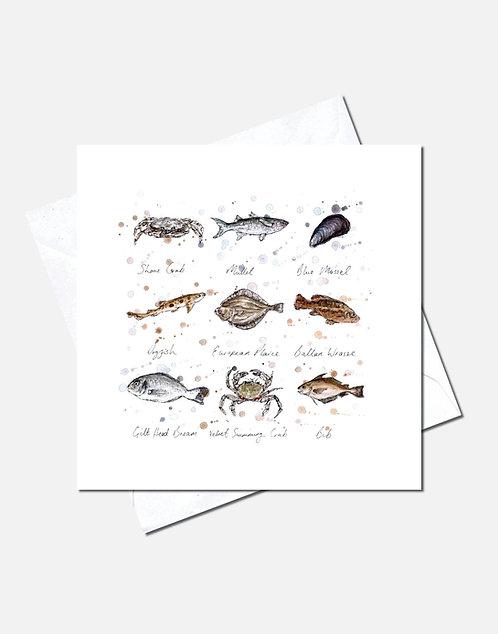 North Sea Finds   Card Design