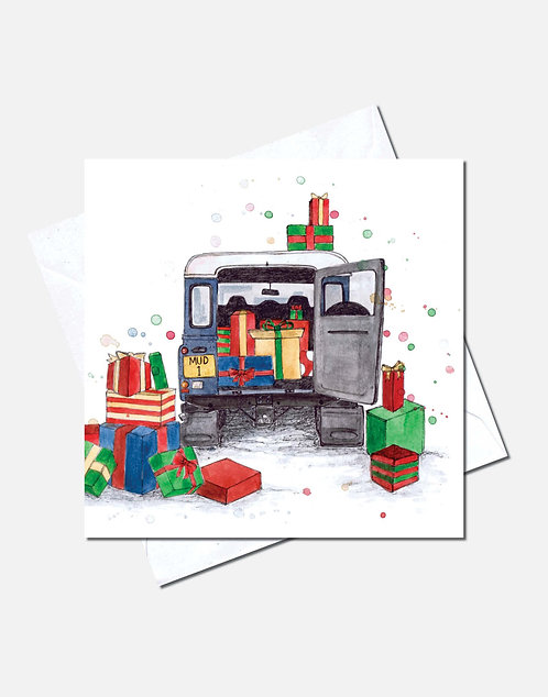 A Very Landy Christmas | Card Design