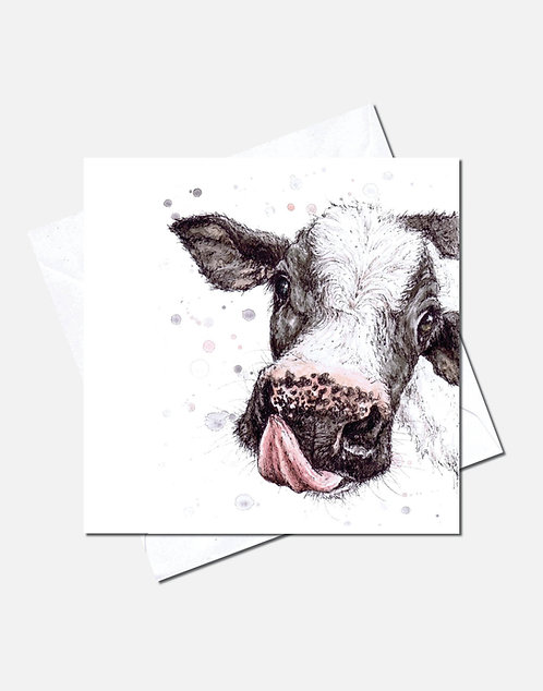 What you licking at? | Card Design