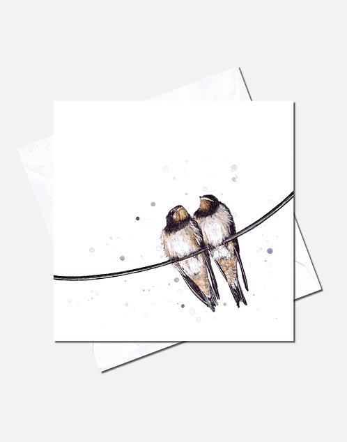 Birds of a Feather | Card Design