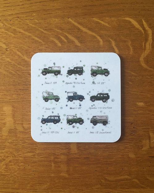 Land Rovers | Coaster