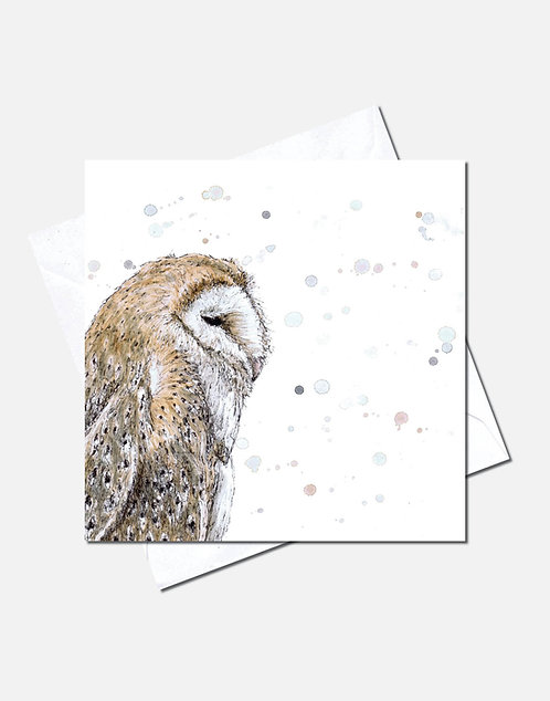 Barn Owl   Card Design