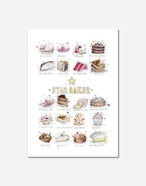 Star Baker | Signed Limited Edition Print