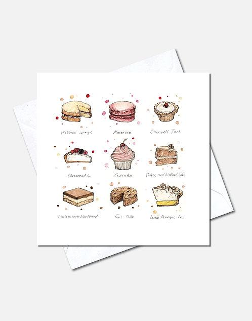 Star Baker | Card Design
