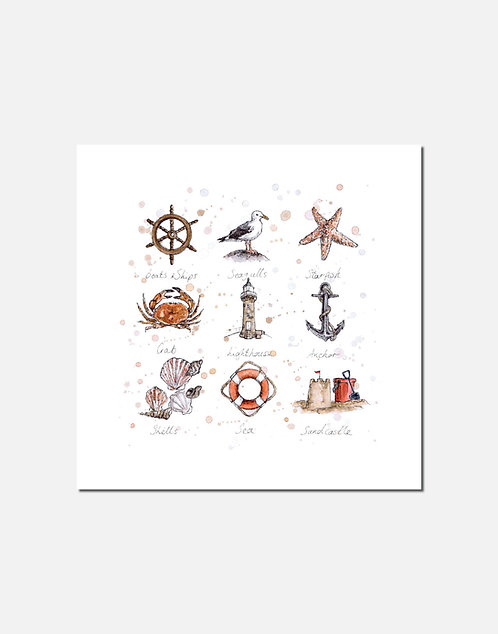 Beside the Seaside | Signed Limited Edition Print