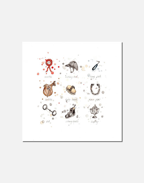 Stable Essentials | Signed Limited Edition Print
