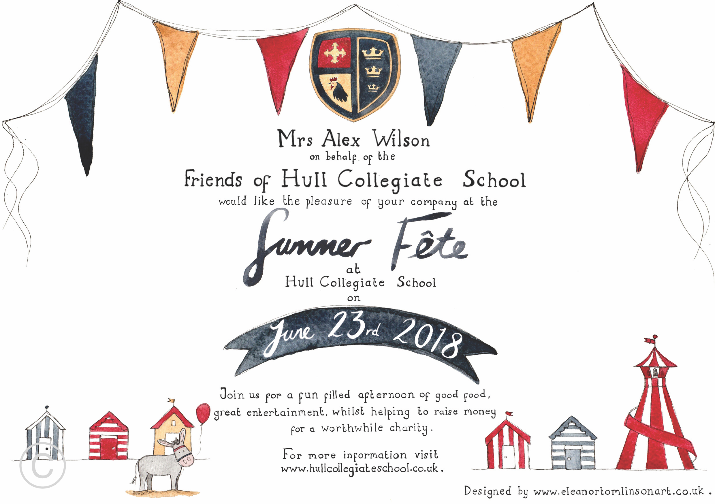 FoHCS SUMMER FETE INVITATIONS