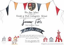 FoHCS SUMMER FETE INVITATIONS
