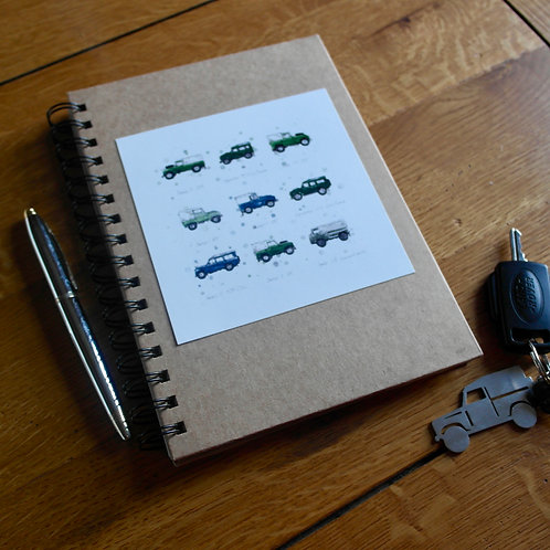 Land Rovers | A5 Notebook