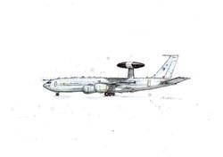 E-3D SENTRY AWACS