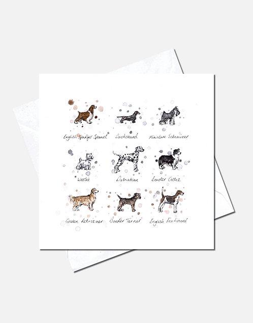 Dog Breeds | Card Design