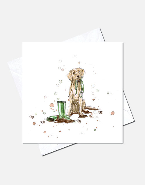 Walkies | Card Design