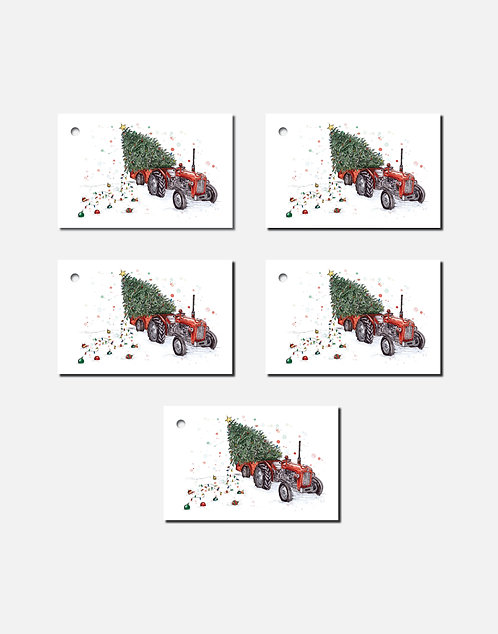 A Massey Little Christmas | Set of 5 Gift Tags