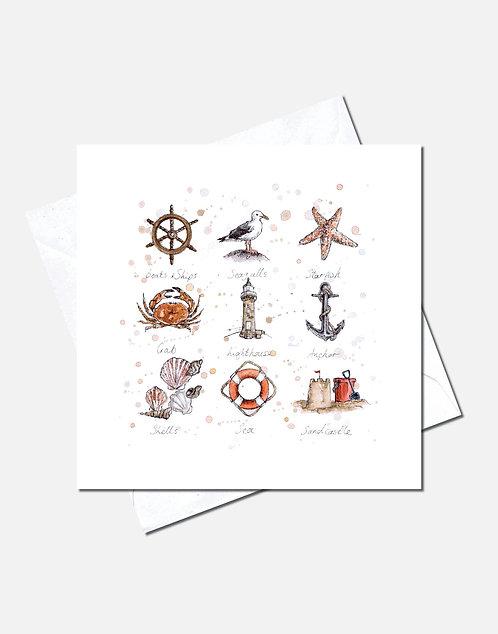 Beside the Seaside | Card Design