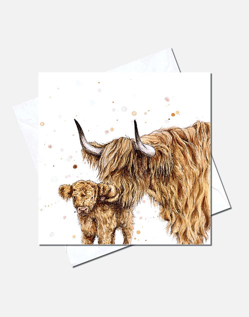 Highland Kiss | Card Design