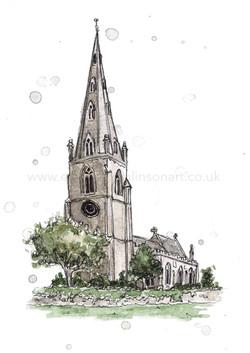 ST PETER OLNEY CHURCH