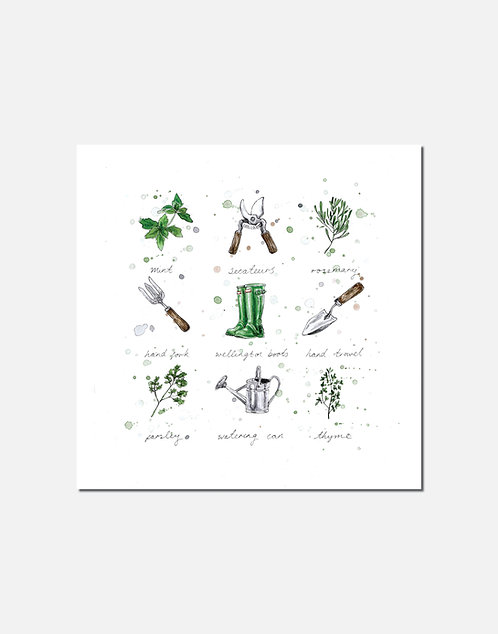 Gardeners' World | Signed Limited Edition Print
