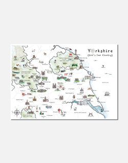 A VERY YORKSHIRE MAP