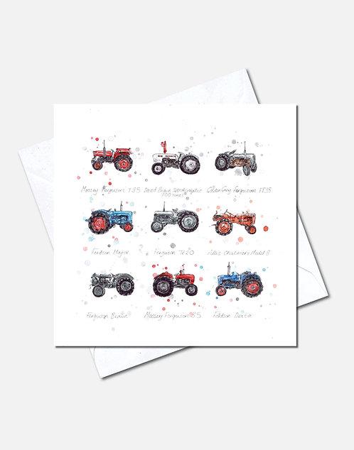 Tractors | Card Design