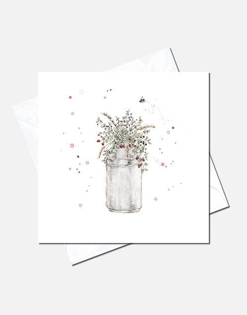 Floral Churn | Card Design