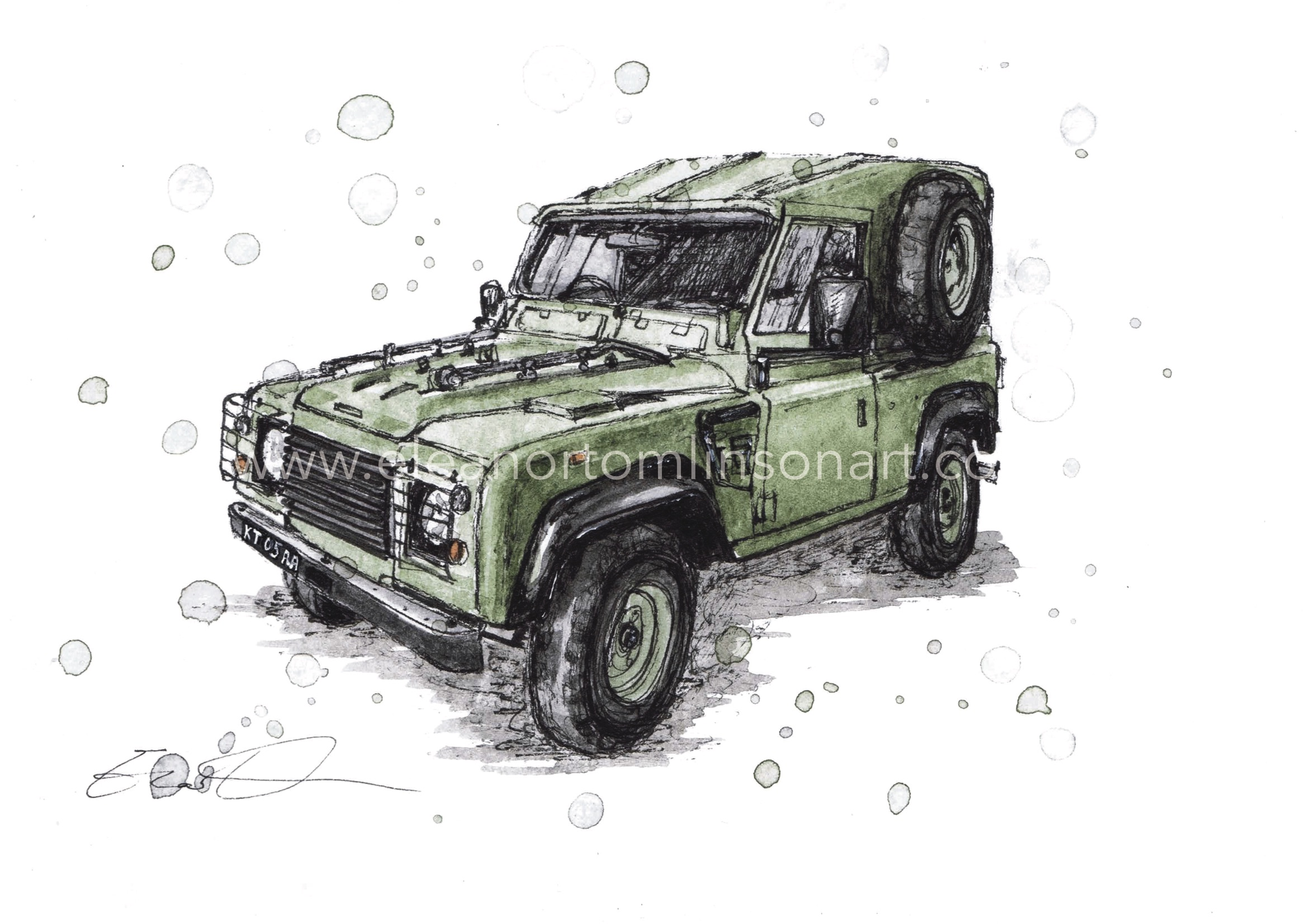 LAND ROVER DEFENDER 90 WOLF