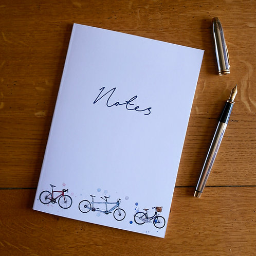 Bicycles | A5 Notebook