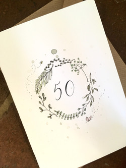 50 Wreath
