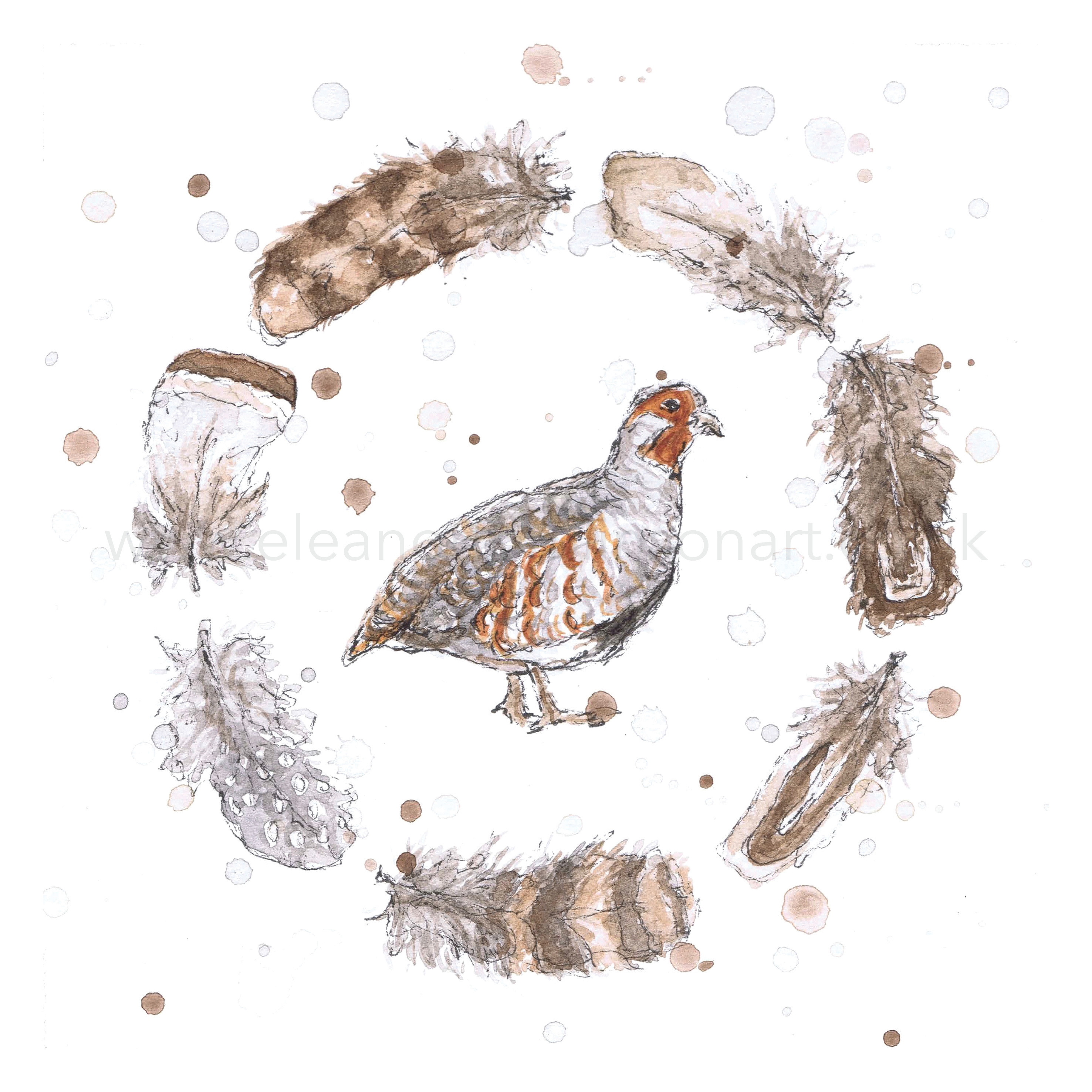 ENGLISH PARTRIDGE WREATH