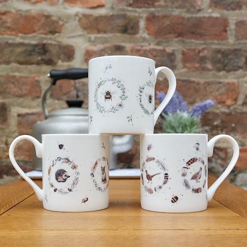 Fine Bone China Mug Offer | 4 for £40