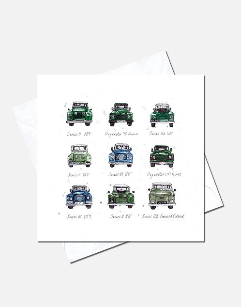 Landy Legends | Card Design