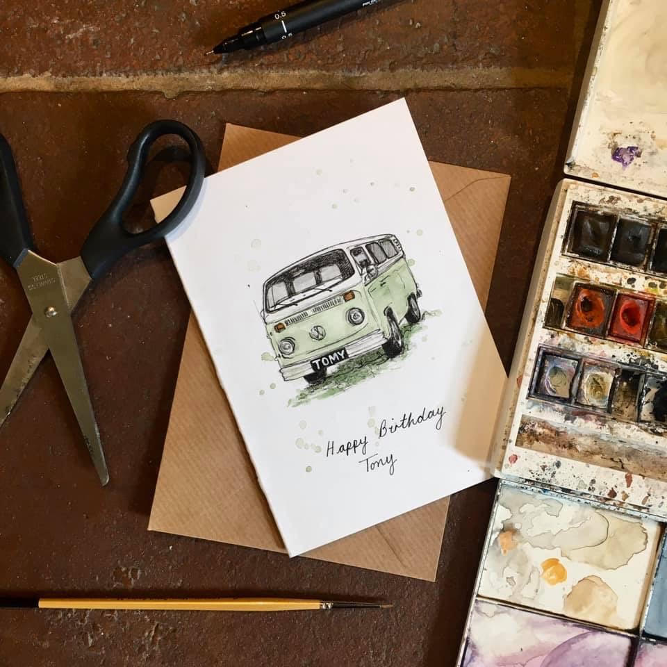 TONY THE VW CAMPER