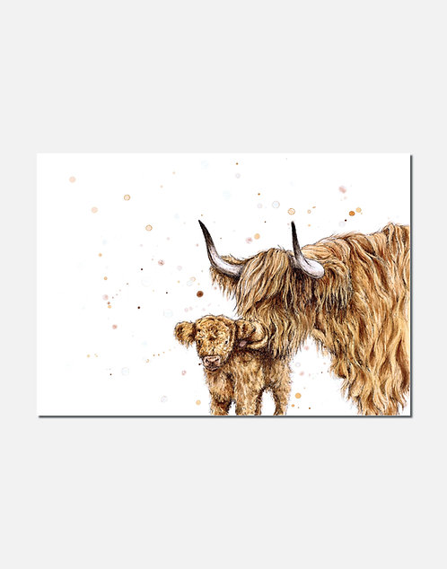 Highland Kiss | Signed Limited Edition Print
