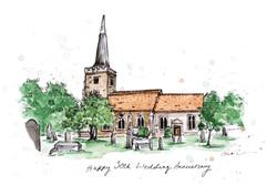 ST JOHN THE BAPTIST CHURCH, DANBURY