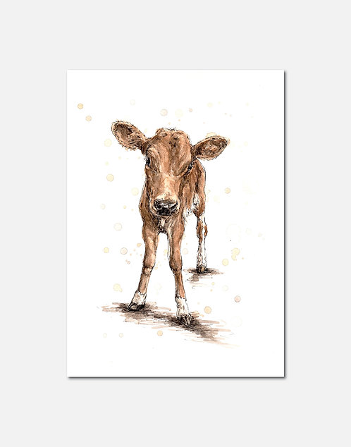 Calf | Signed Limited Edition Print
