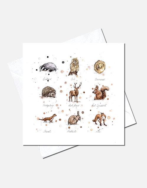 Woodland Wildlife | Card Design