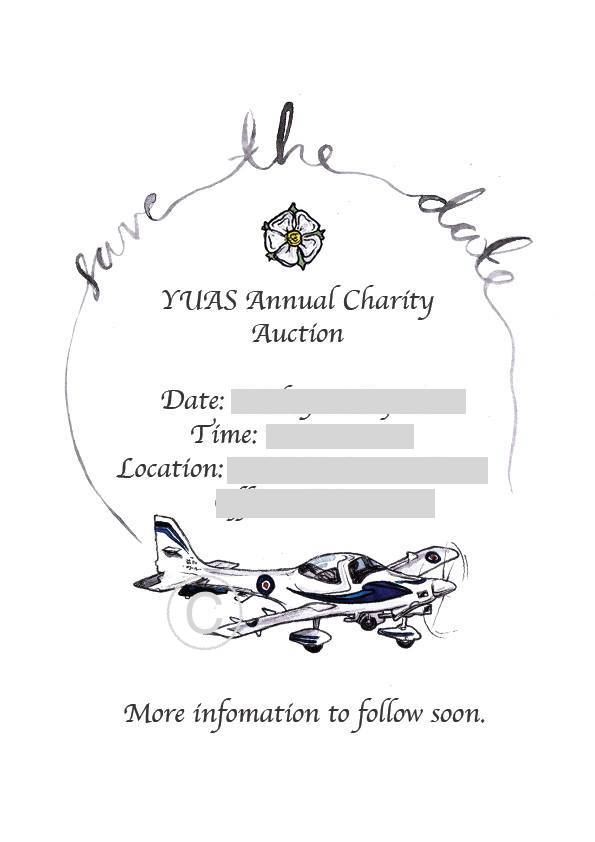 YUAS RAF ANNUAL CHARITY AUCTION