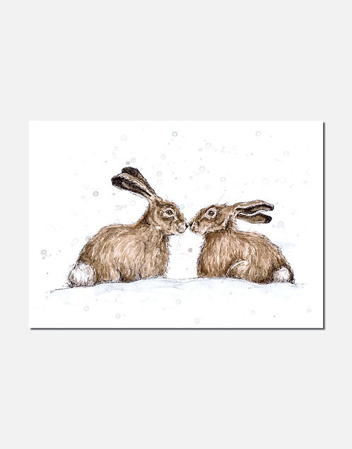 Christmas Kiss | Signed Limited Edition Print