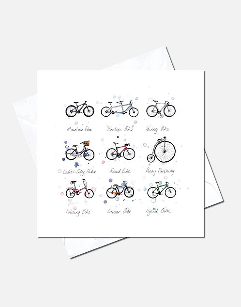 Bicycles | Card Design