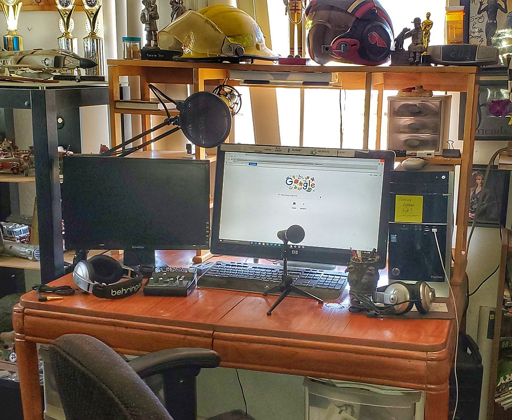 'Take Back Network' Studio Progression
