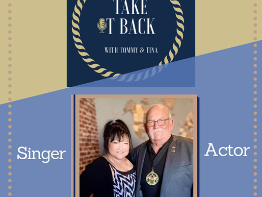 Tommy Anderson Interviewed by Tina Hargett on the 'Take It Back' Podcast