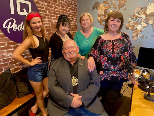 Tommy Anderson & Tina Hargett w/ Lidia Anderson & Publicist Susan J. Farese 'Take It Back' Podcast