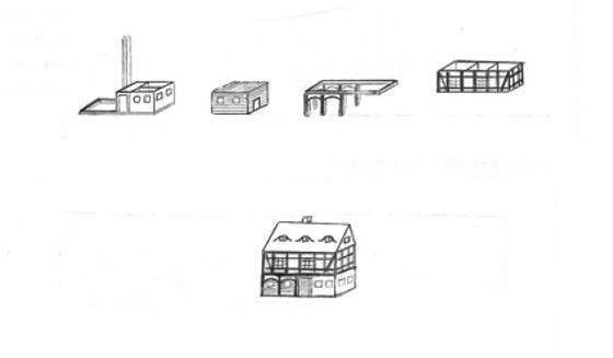 Aufbau Umgebindehaus